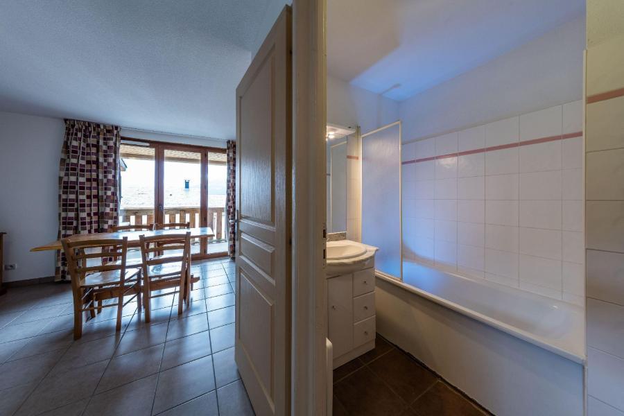 Location au ski Résidence le Clos des Fontaneilles - Les Angles - Salle de bains