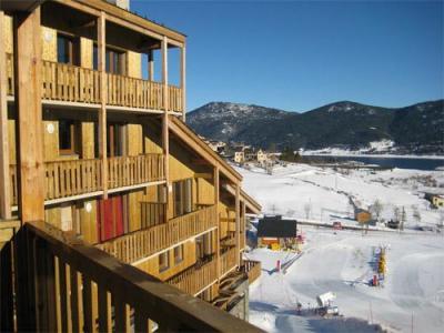 Location au ski Residence Lagrange L'oree Des Cimes - Les Angles - Extérieur hiver
