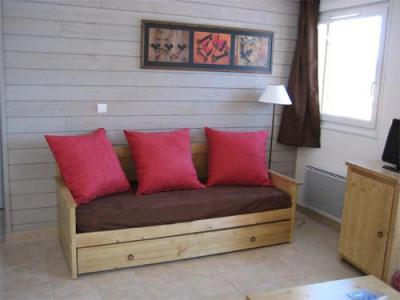 Location au ski Residence Lagrange L'oree Des Cimes - Les Angles - Banquette-lit