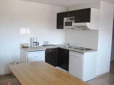 Location au ski Residence Lagrange L'oree Des Cimes - Les Angles - Kitchenette