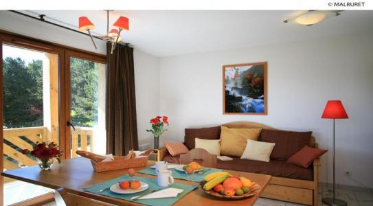 Location au ski Appartement 2 pièces 4 personnes - Residence Lagrange Prat De Lis - Les Angles - Séjour