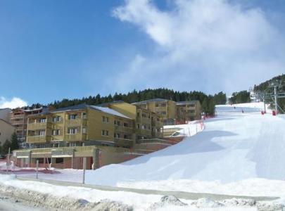 Location au ski Residence Lagrange Prat De Lis - Les Angles - Extérieur hiver