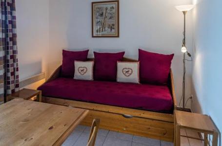 Location au ski Residence Le Clos Des Fontaneilles - Les Angles - Canapé-lit