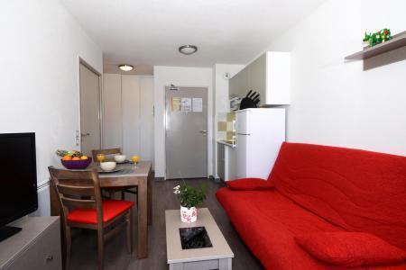 Rent in ski resort Résidence les Chalets de l'Isard - Les Angles - Living room