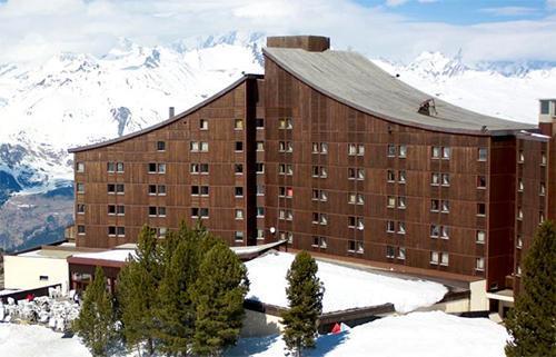 Location au ski Hotel Club Mmv Altitude - Les Arcs - Extérieur hiver