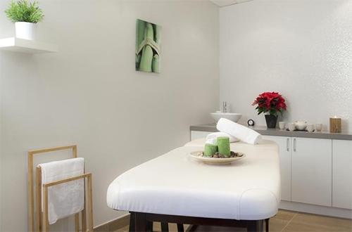 Location au ski Hotel Club Mmv Altitude - Les Arcs - Massage