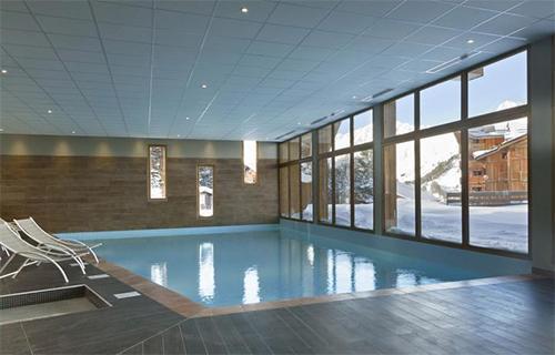 Location au ski Hotel Club Mmv Altitude - Les Arcs - Piscine