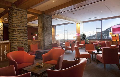 Location au ski Hotel Club Mmv Altitude - Les Arcs - Réception
