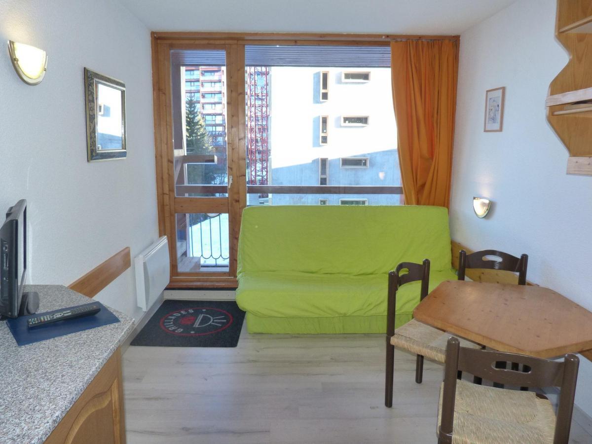 Location au ski Studio 3 personnes (602) - La Residence Armoise - Les Arcs - Séjour