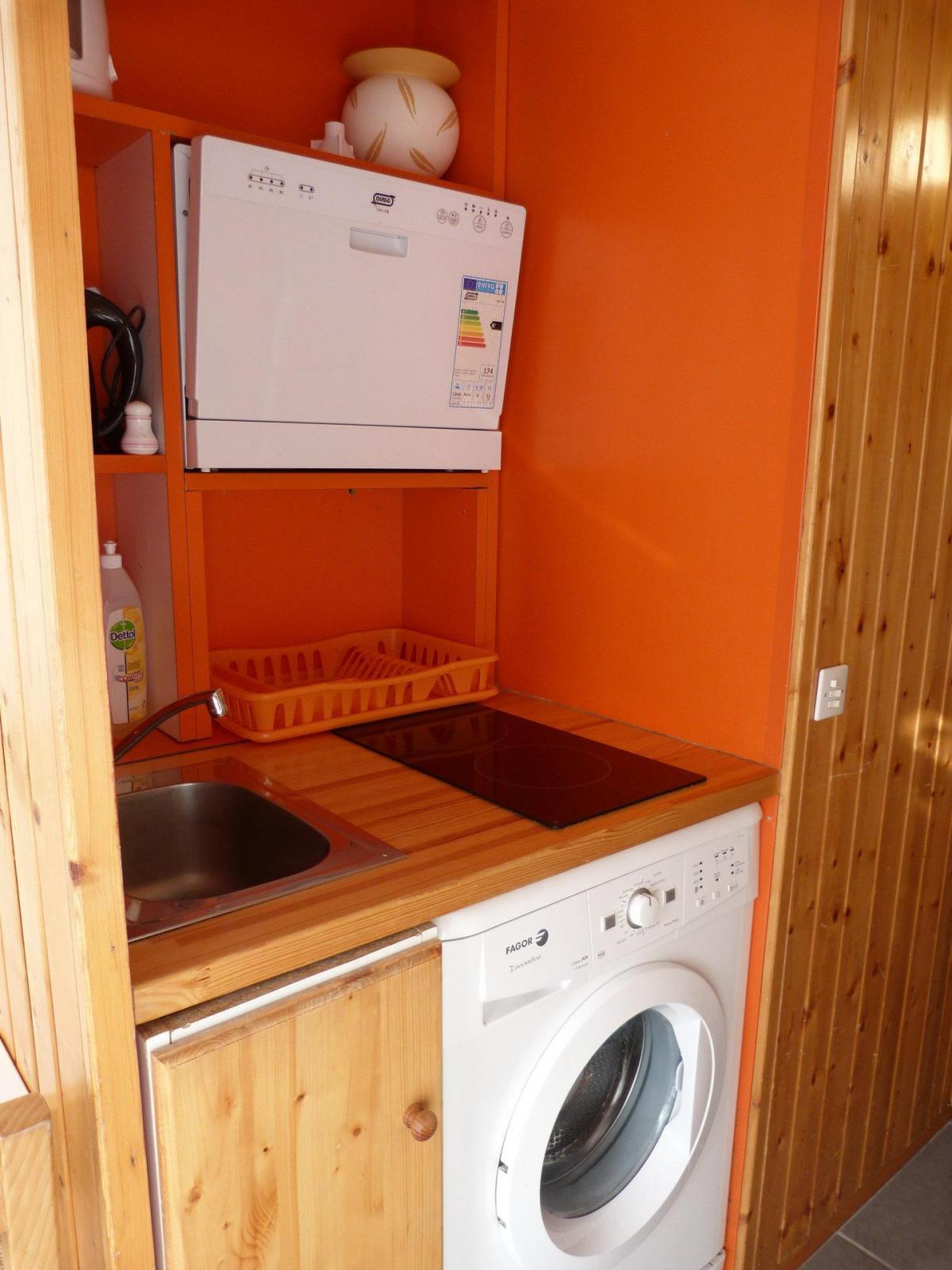 Location au ski Studio coin montagne 4 personnes (405) - La Residence Grand Arbois - Les Arcs - Extérieur hiver
