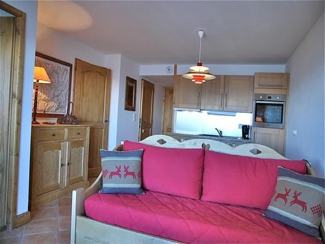 Location au ski Appartement 3 pièces 6 personnes (05B C) - La Residence L'iseran - Les Arcs
