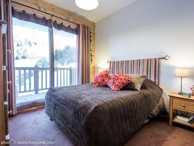 Location au ski Appartement 3 pièces 4 personnes (16C) - La Residence L'iseran - Les Arcs - Lit double