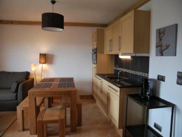 Location au ski Appartement 3 pièces 6 personnes (14B C) - La Residence L'iseran - Les Arcs - Kitchenette