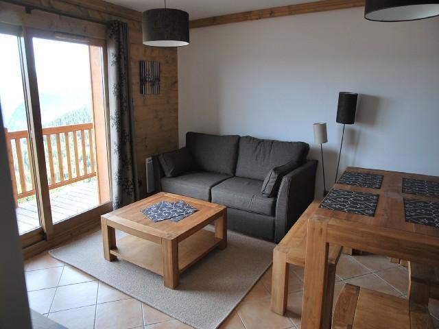Location au ski Appartement 3 pièces 6 personnes (14B C) - La Residence L'iseran - Les Arcs - Séjour