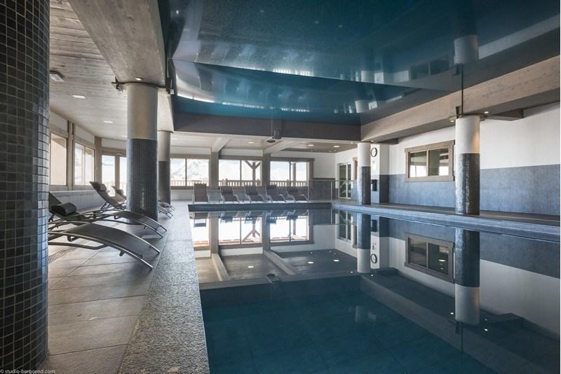 Location au ski Appartement 3 pièces 4 personnes (16C) - La Residence L'iseran - Les Arcs - Piscine