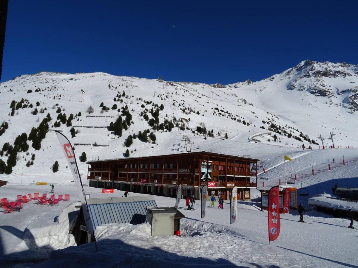 Location au ski Studio coin montagne 4 personnes (154) - Residence Aiguille Rouge - Les Arcs