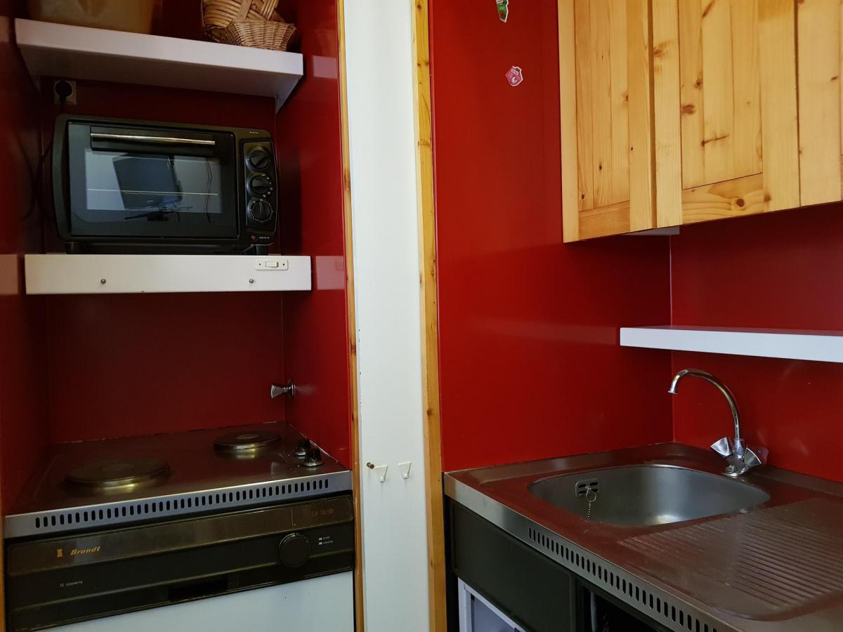 Location au ski Studio coin montagne 4 personnes (406) - Residence Aiguille Rouge - Les Arcs