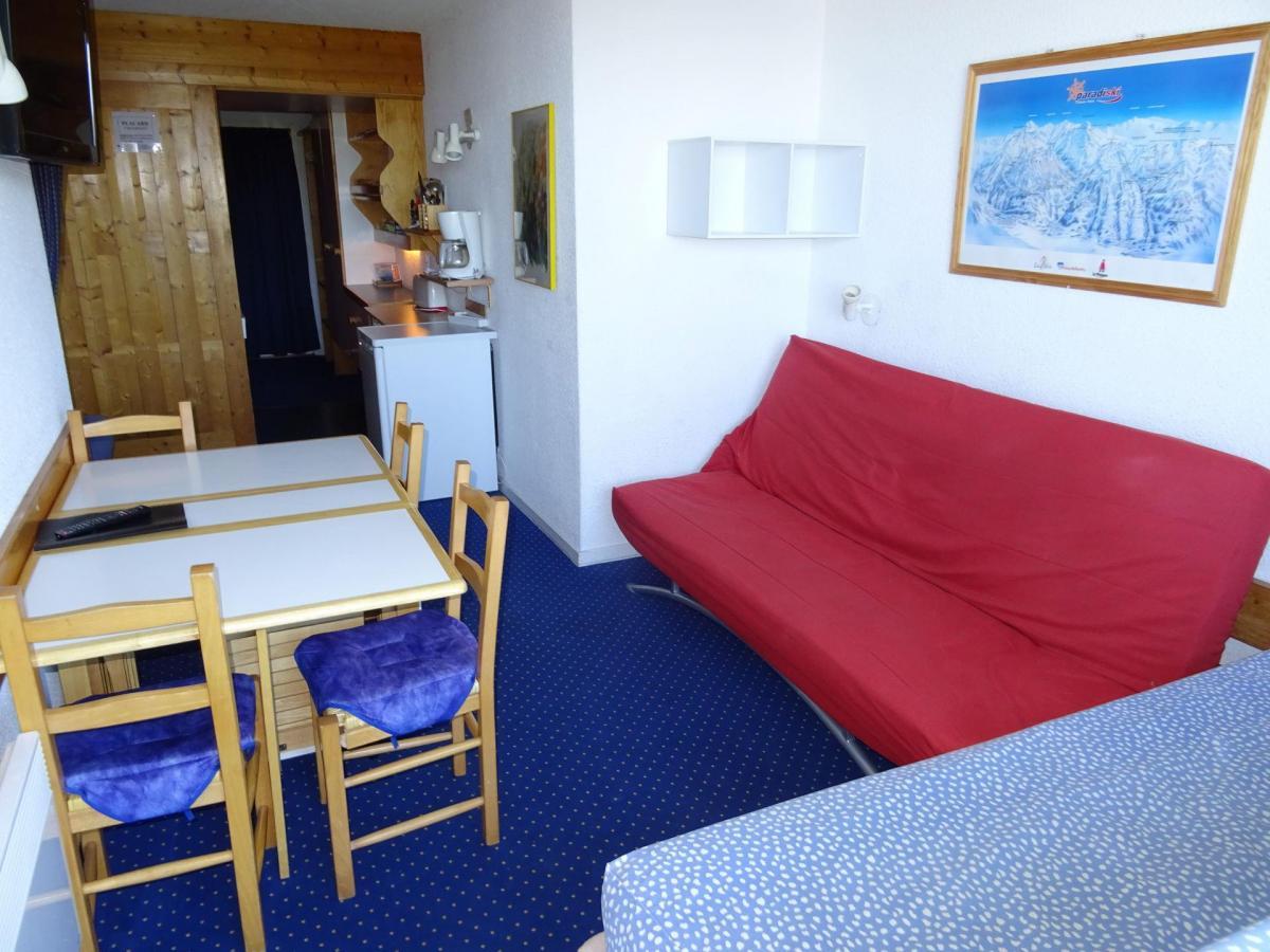 Location au ski Studio coin montagne 4 personnes (812) - Residence Belles Challes - Les Arcs