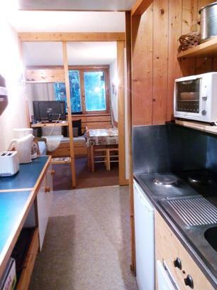 Location au ski Studio coin montagne 4 personnes (110) - Residence Belles Challes - Les Arcs