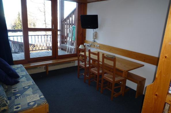 Location au ski Appartement 2 pièces 6 personnes (312) - Residence L'aiguille Grive Bat Iii - Les Arcs - Séjour