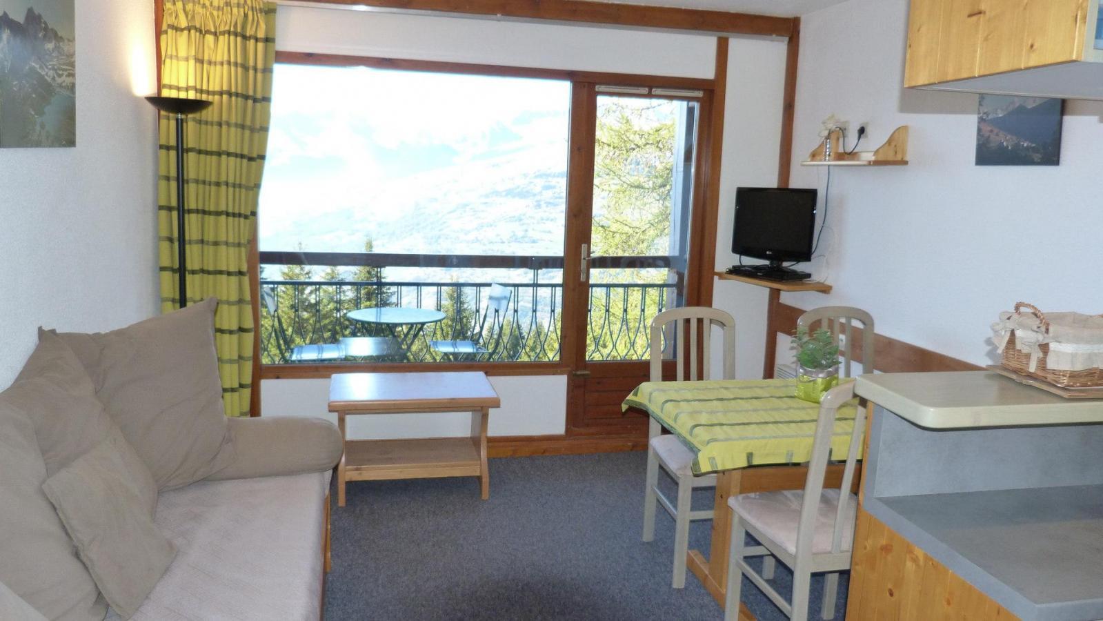 Location au ski Appartement 2 pièces 4 personnes (310) - Residence Le Ruitor - Les Arcs - Séjour