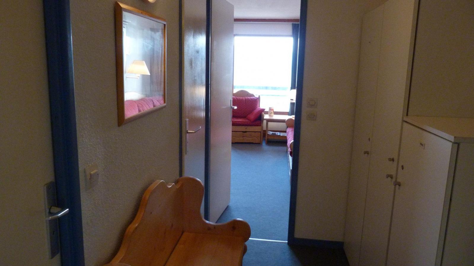 Location au ski Appartement 2 pièces 4 personnes (609) - Residence Le Ruitor - Les Arcs - Table