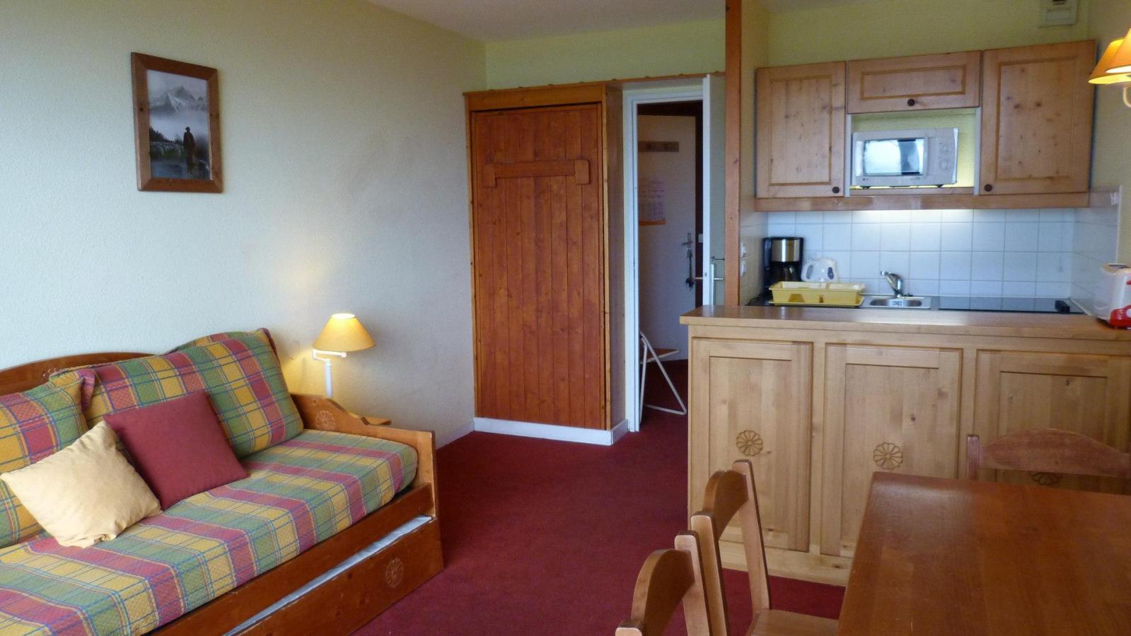 Location au ski Appartement 2 pièces 5 personnes (211) - Residence Le Ruitor - Les Arcs - Kitchenette