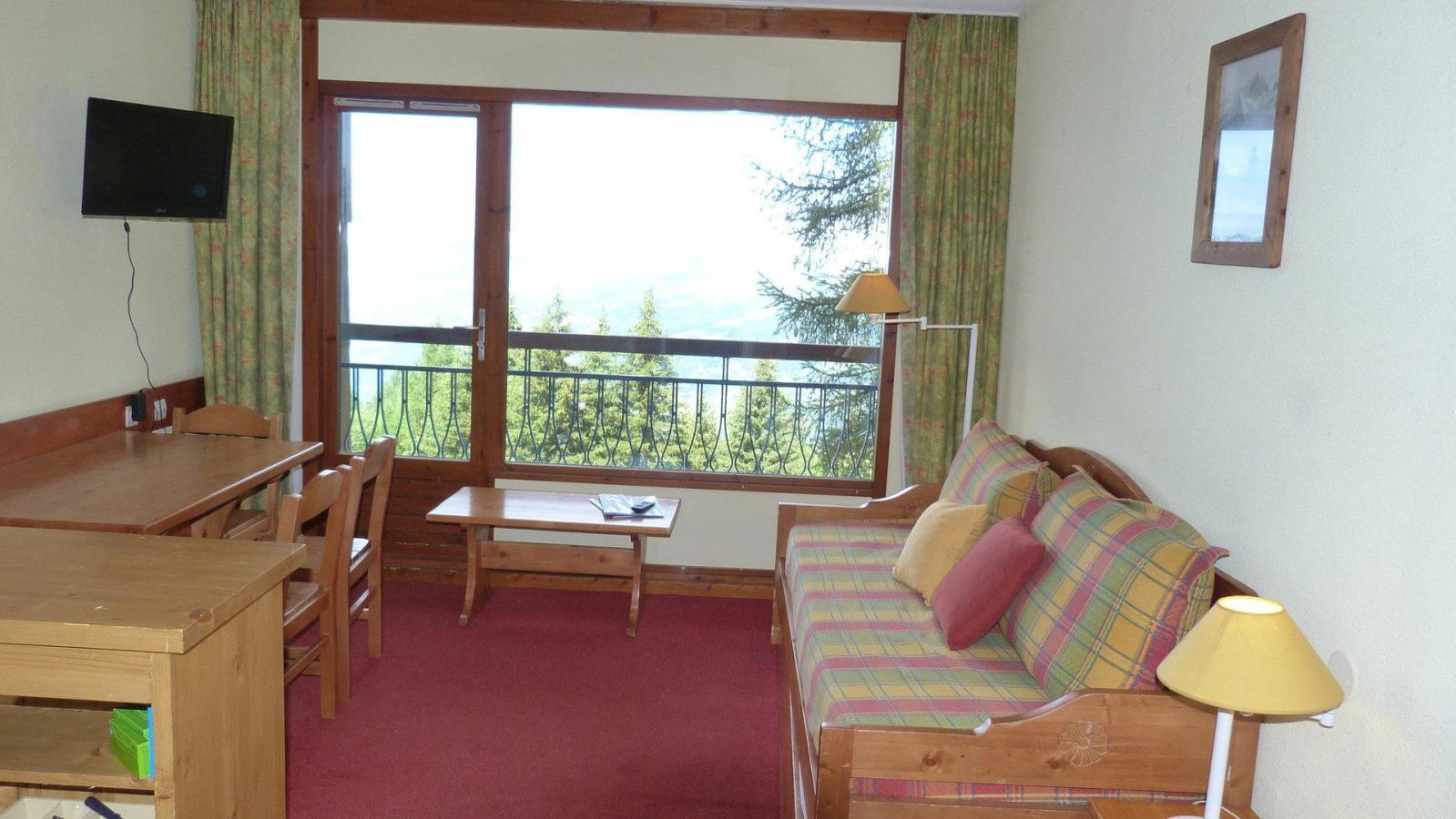 Location au ski Appartement 2 pièces 5 personnes (211) - Residence Le Ruitor - Les Arcs - Séjour