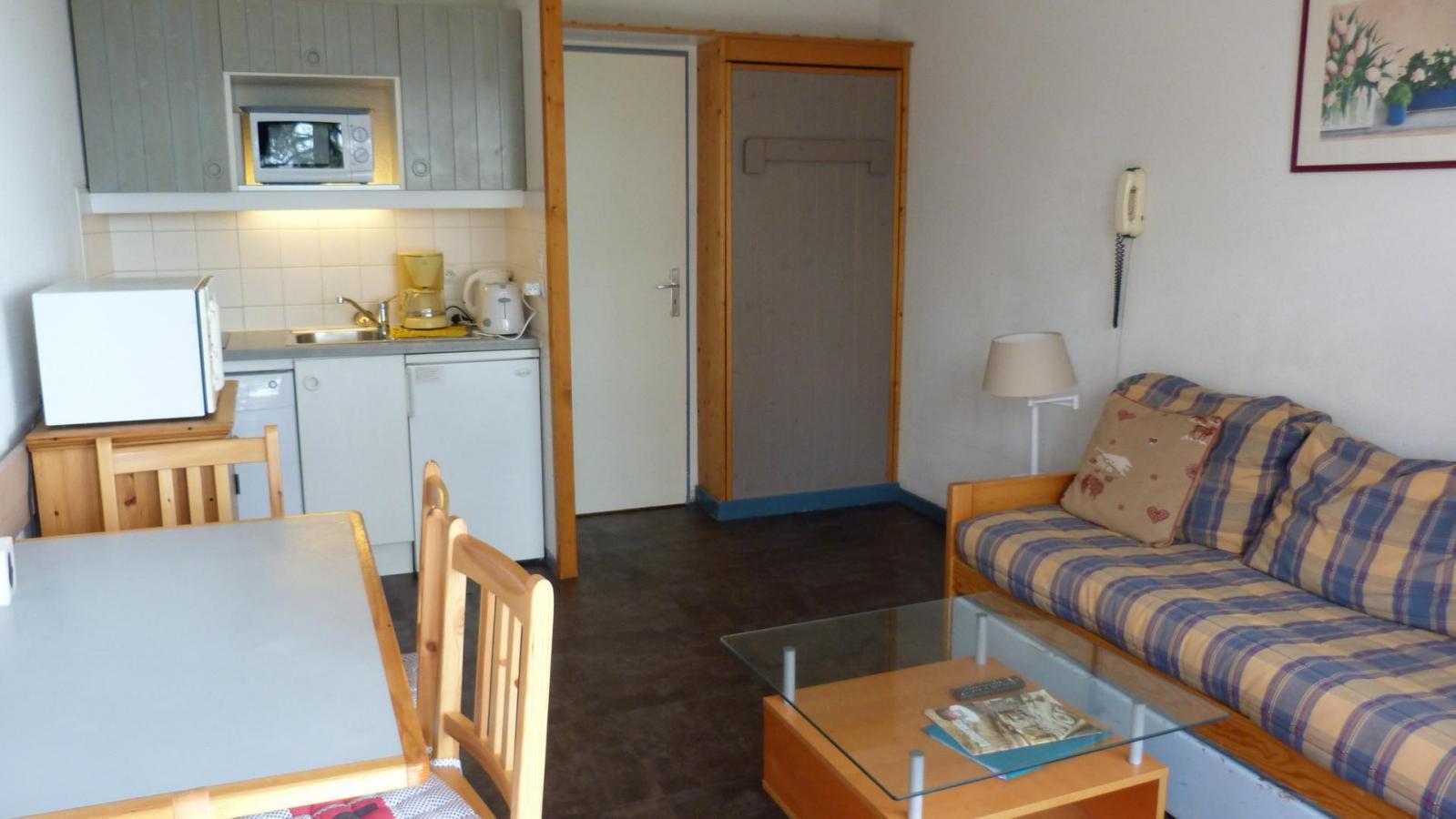 Location au ski Appartement 2 pièces 5 personnes (214) - Residence Le Ruitor - Les Arcs - Kitchenette