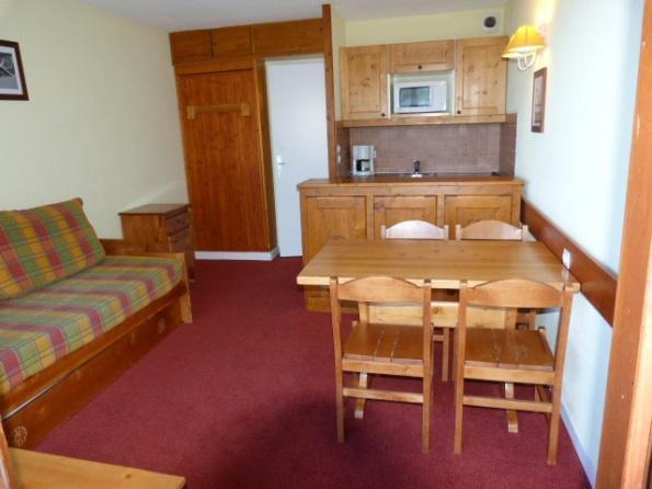 Location au ski Appartement 2 pièces 5 personnes (505) - Residence Le Ruitor - Les Arcs - Coin repas