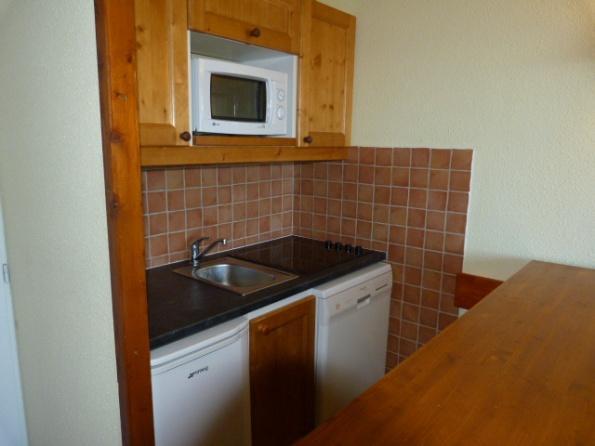 Location au ski Appartement 2 pièces 5 personnes (505) - Residence Le Ruitor - Les Arcs - Kitchenette