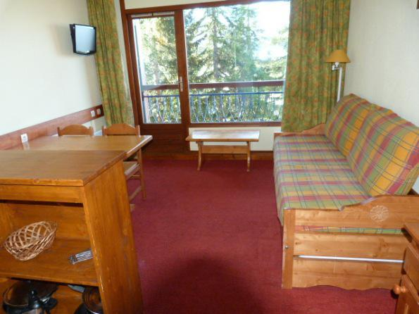 Location au ski Appartement 2 pièces 5 personnes (505) - Residence Le Ruitor - Les Arcs - Séjour