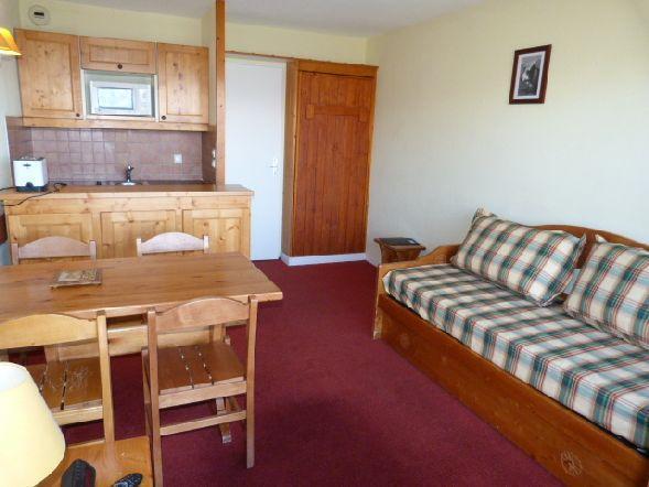 Location au ski Appartement 2 pièces 5 personnes (610) - Residence Le Ruitor - Les Arcs - Table
