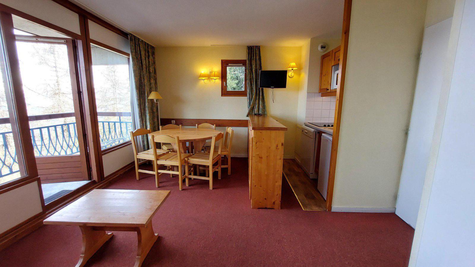 Location au ski Appartement 3 pièces 6 personnes (416) - Residence Le Ruitor - Les Arcs - Kitchenette