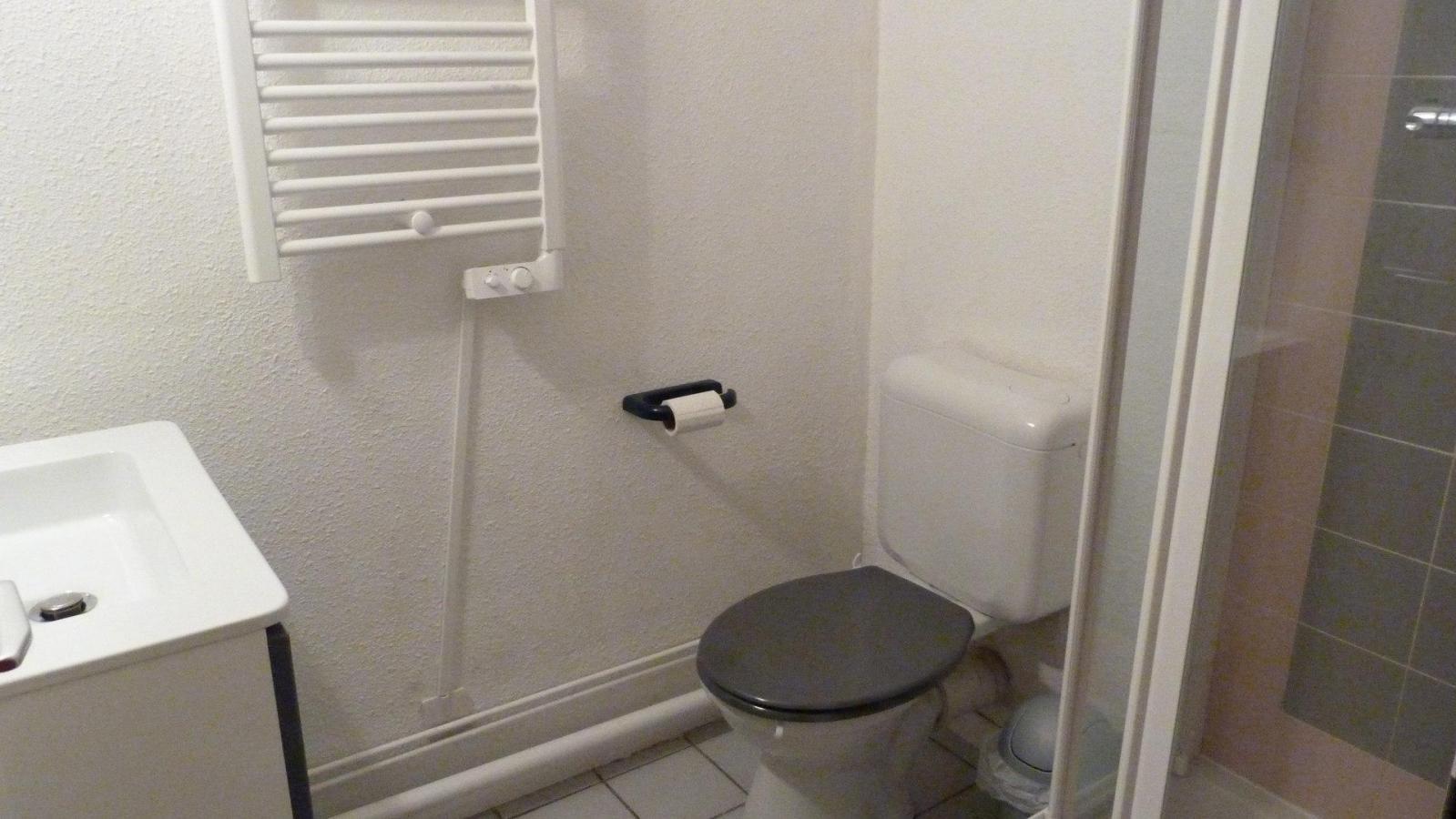 Location au ski Appartement 3 pièces 6 personnes (600) - Residence Le Ruitor - Les Arcs - Salle de bains