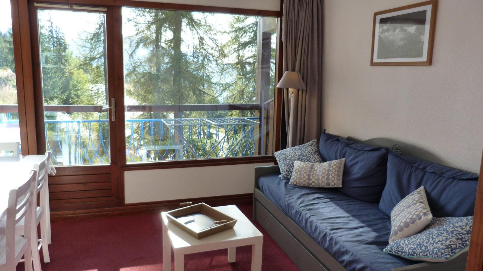 Location au ski Appartement 3 pièces 6 personnes (600) - Residence Le Ruitor - Les Arcs - Séjour