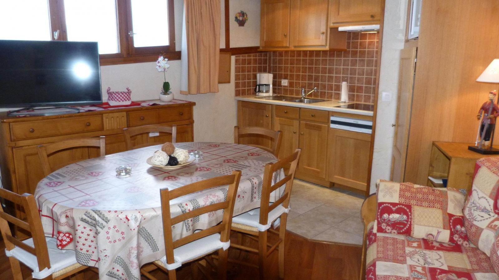 Location au ski Appartement 3 pièces 6 personnes (907) - Residence Le Ruitor - Les Arcs - Coin séjour