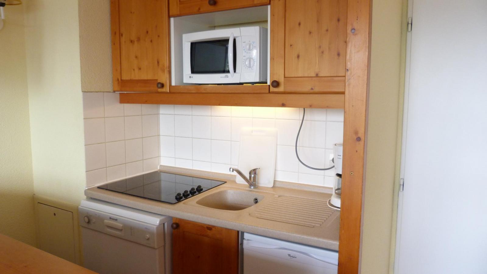 Location au ski Appartement 3 pièces 6 personnes (416) - Residence Le Ruitor - Les Arcs - Extérieur hiver