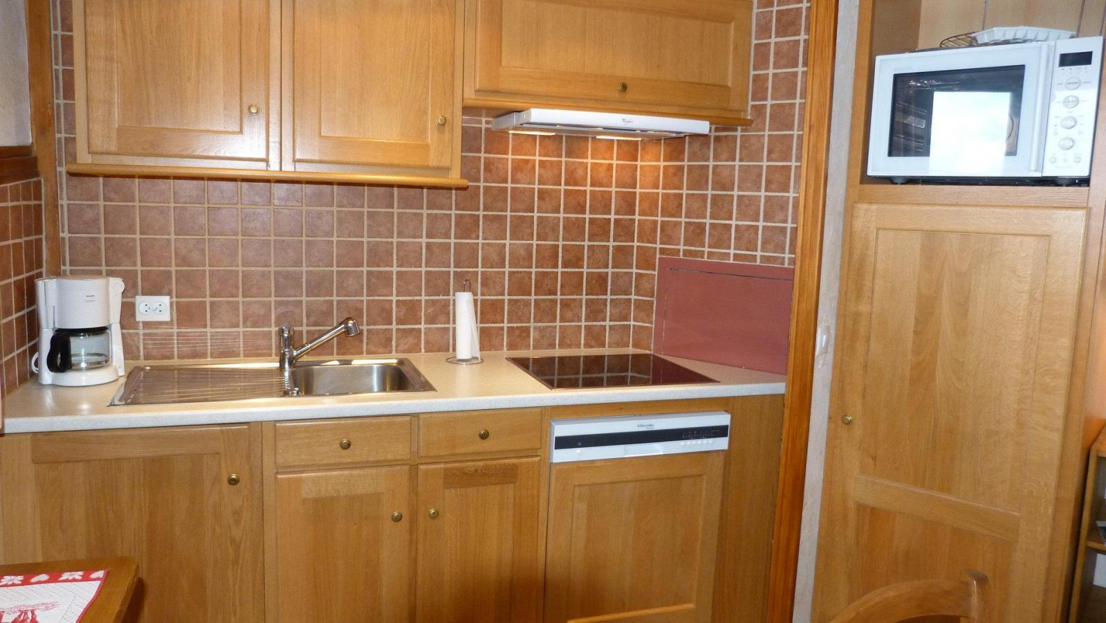 Location au ski Appartement 3 pièces 6 personnes (907) - Residence Le Ruitor - Les Arcs - Extérieur hiver