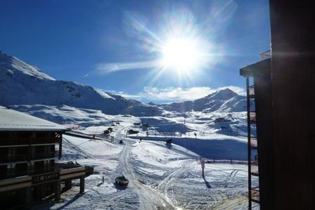 Location au ski Studio coin montagne 3 personnes (303) - Residence Les Lanchettes - Les Arcs