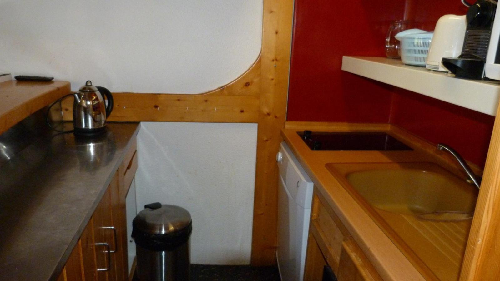 Location au ski Appartement 2 pièces mezzanine 6 personnes (406) - Residence Les Tournavelles - Les Arcs