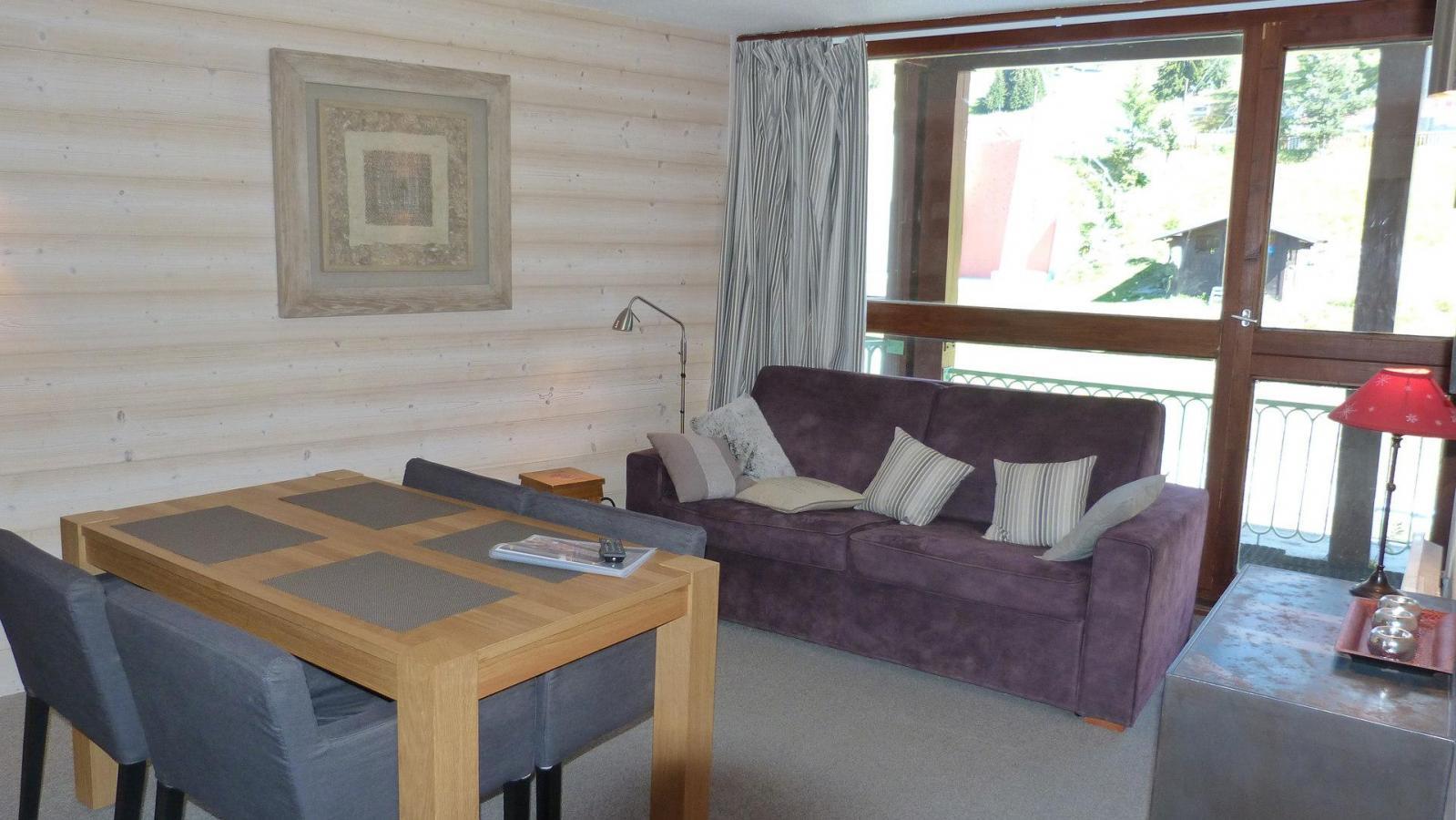 Location au ski Appartement 2 pièces 4 personnes (210) - Residence Les Tournavelles - Les Arcs - Séjour