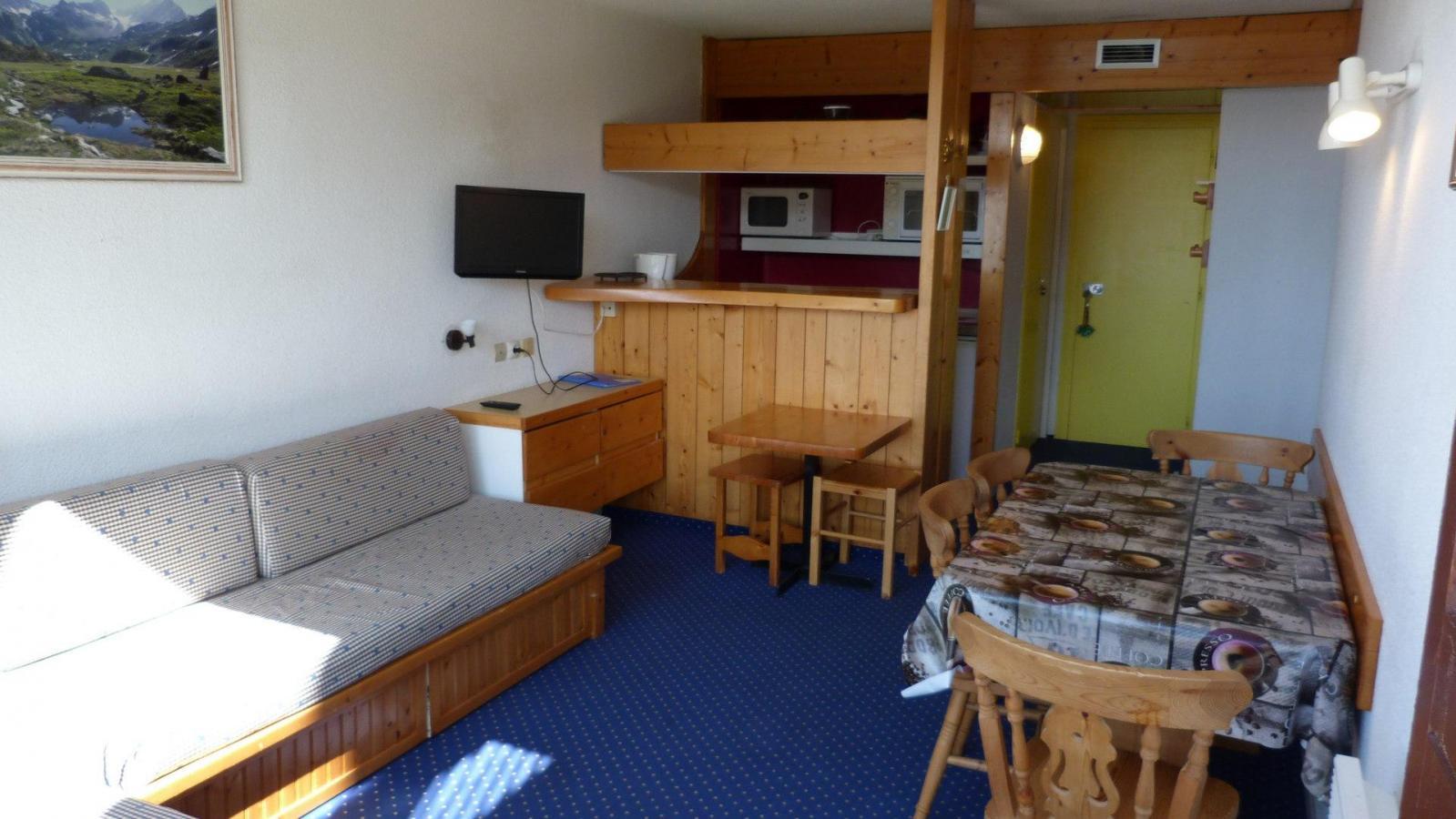 Location au ski Appartement 2 pièces 5 personnes (010) - Residence Les Tournavelles - Les Arcs - Kitchenette