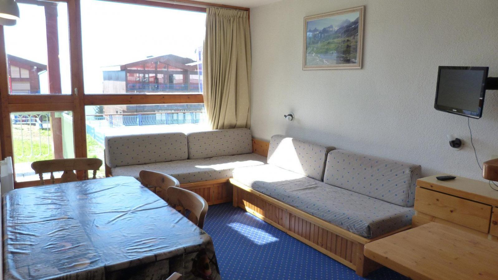 Location au ski Appartement 2 pièces 5 personnes (010) - Residence Les Tournavelles - Les Arcs - Séjour
