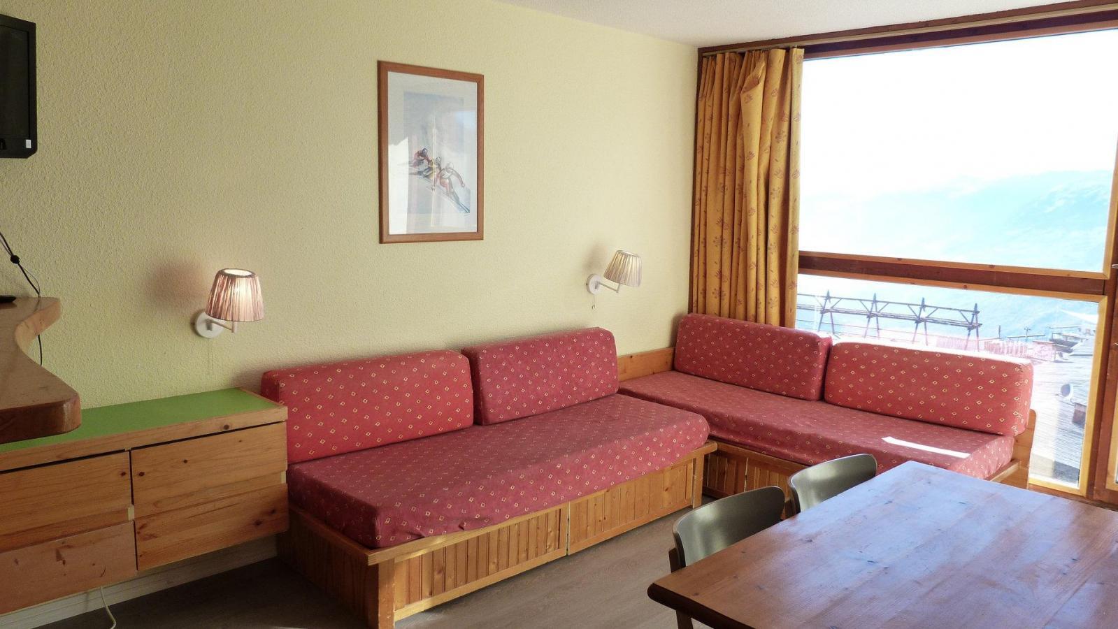 Location au ski Appartement 2 pièces 5 personnes (319) - Residence Les Tournavelles - Les Arcs - Séjour