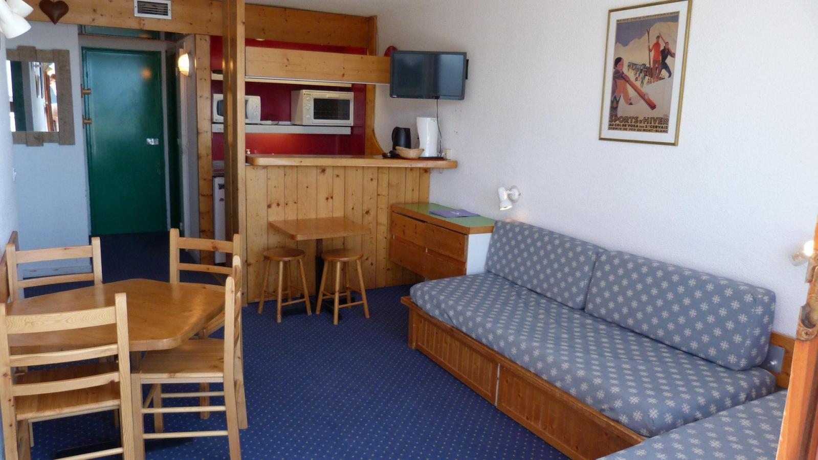 Location au ski Appartement 2 pièces 5 personnes (321) - Residence Les Tournavelles - Les Arcs - Kitchenette