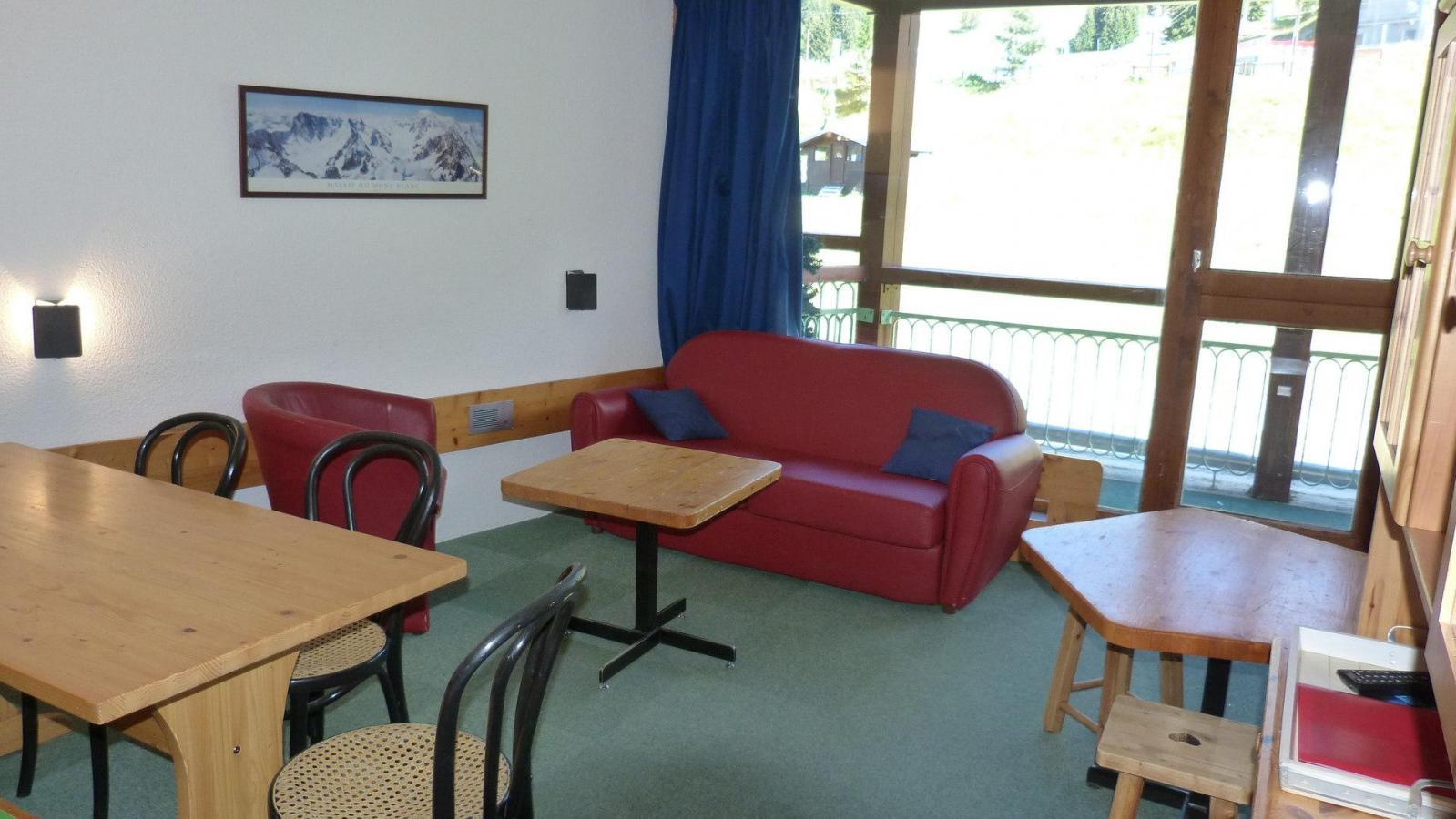 Location au ski Appartement 4 pièces 10 personnes (205) - Residence Les Tournavelles - Les Arcs - Séjour