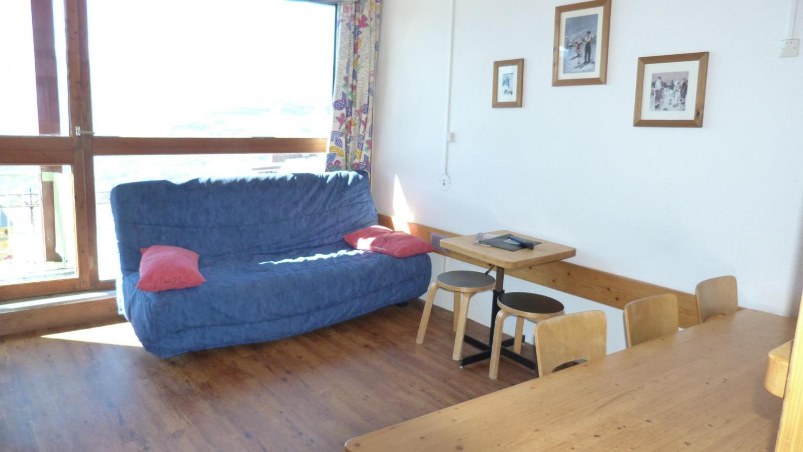 Location au ski Appartement 4 pièces 8 personnes (424) - Residence Les Tournavelles - Les Arcs - Séjour