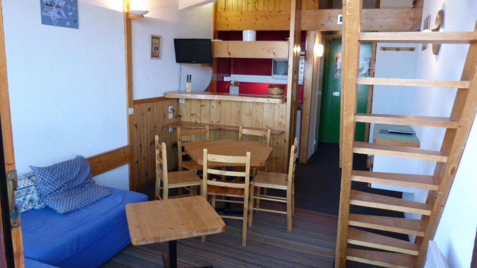 Location au ski Appartement duplex 3 pièces 6 personnes (1404) - Residence Les Tournavelles - Les Arcs - Kitchenette
