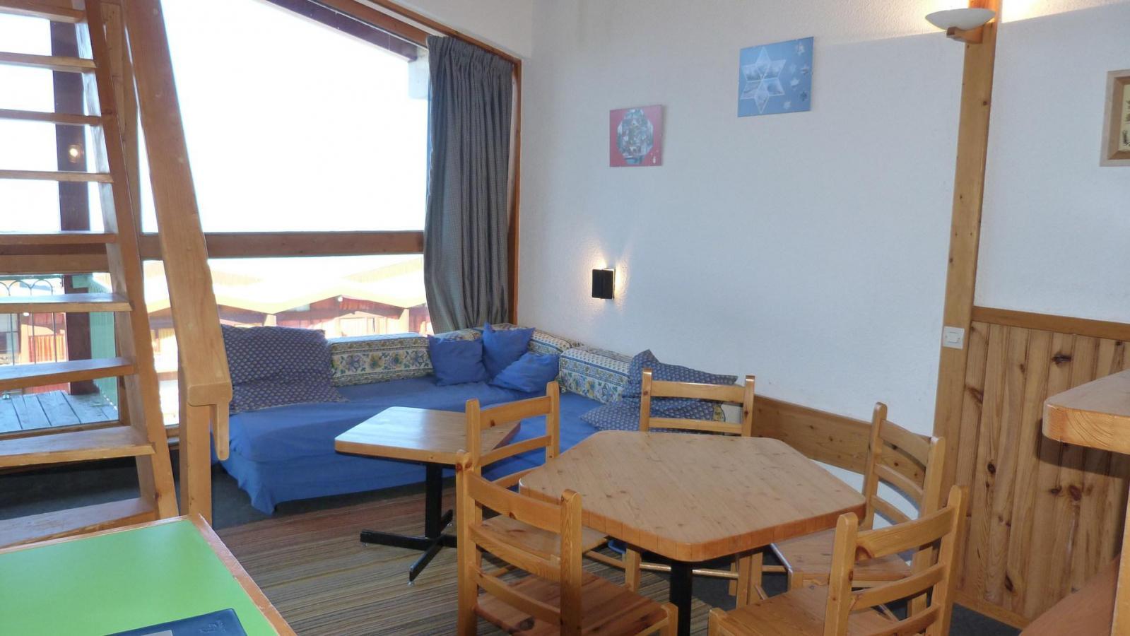 Location au ski Appartement duplex 3 pièces 6 personnes (1404) - Residence Les Tournavelles - Les Arcs - Séjour